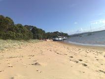 Playa de Sandy imagen de archivo