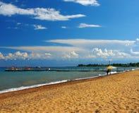 Playa de Sandy Imagen de archivo libre de regalías