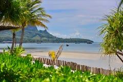 Playa de Sandy de Koh Mook Island Fotografía de archivo