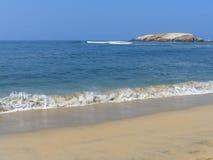 Playa de Sandy de Punta Hermosa en Perú Fotografía de archivo libre de regalías