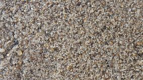 Playa de Sandy en un aumento imagen de archivo libre de regalías