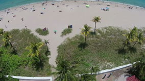 Playa de Sandy Florida Imagen de archivo libre de regalías