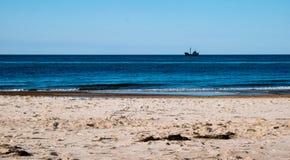Playa de Sandy por el mar Báltico fotos de archivo libres de regalías
