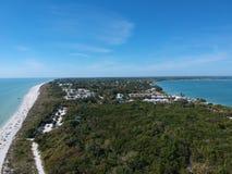 Playa de Sanibel imagen de archivo libre de regalías