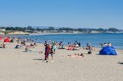 Playa de Santa Cruz, California foto de archivo libre de regalías