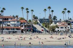 Playa de Santa Cruz, California imágenes de archivo libres de regalías