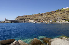 PLAYA DE  SANTIAGO, La Gomera, Canary Island, Spain Stock Photos