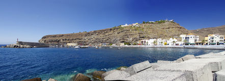 PLAYA DE  SANTIAGO, La Gomera, Canary Island, Spain Stock Photos