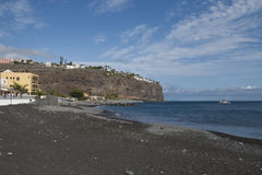 Playa de Santiago, La Homera, España Imagen de archivo