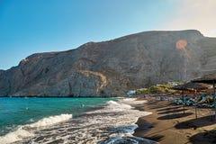 Playa de Santorini, Grecia Imagen de archivo libre de regalías