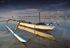 Playa de Sanur Imagen de archivo libre de regalías
