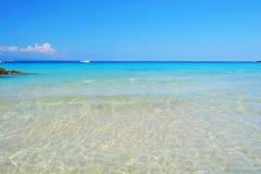 Playa de Sardegna Imagen de archivo libre de regalías