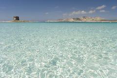 Playa de Sardegna Fotos de archivo