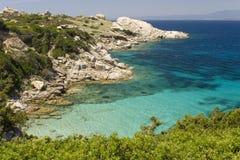 Playa de Sardegna Imágenes de archivo libres de regalías