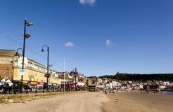 Playa de Scarborough foto de archivo libre de regalías