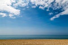 Playa de Seaford Imagen de archivo libre de regalías