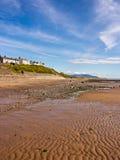 Playa de Seascale foto de archivo libre de regalías