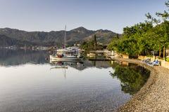 Playa de Selimiye Fotos de archivo