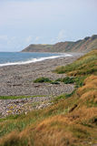 Playa de Silecroft Fotografía de archivo