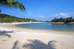 Playa de Siloso fotografía de archivo