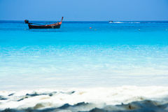 Playa de Similan en verano Fotos de archivo
