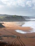 Playa de Sopelana Imágenes de archivo libres de regalías