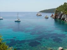 Playa de Stafilos Imagenes de archivo