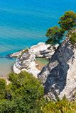 Playa de Summer Lido di Portonuovo, Italia imagen de archivo