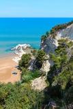Playa de Summer Lido di Portonuovo, Italia fotos de archivo libres de regalías