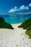 Playa de SUNAYAMA, Okinawa Prefecture /Japan Fotografía de archivo libre de regalías