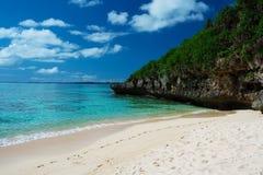 Playa de SUNAYAMA, Okinawa Prefecture /Japan Imagen de archivo