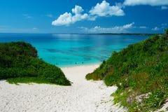 Playa de SUNAYAMA, Okinawa Prefecture /Japan Imágenes de archivo libres de regalías