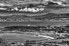 Playa de Swilly del lago Foto de archivo libre de regalías
