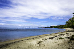 Playa de Tabyana Fotos de archivo libres de regalías
