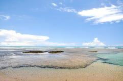 Playa de Taipu de Fora - Bahía (el Brasil) Fotografía de archivo