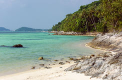 Playa de Taling Ngam Isla de Koh Samui tailandia Foto de archivo