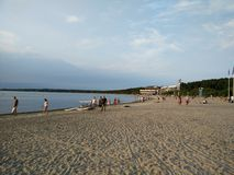 Playa de Tallinn Imagen de archivo