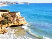 Playa de Tamarit Imagenes de archivo