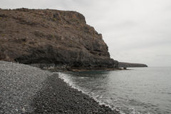 Playa de Tapahuga,戈梅拉岛 免版税库存图片