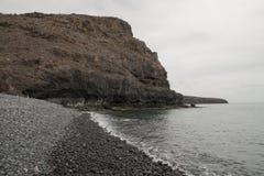 Playa de Tapahuga, Ла Gomera Стоковое Изображение RF