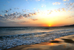 Playa de Tarifa - España Foto de archivo