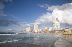 Playa de Tel Aviv Fotos de archivo