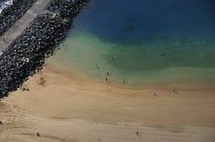 Playa de Teresitas de Tenerife Fotos de archivo libres de regalías