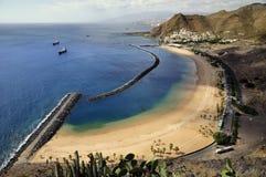 Playa de Teresitas de Tenerife Imagenes de archivo