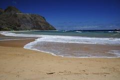 Playa de Teresitas en Tenerife Foto de archivo