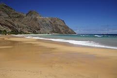 Playa de Teresitas en Tenerife Imagen de archivo libre de regalías