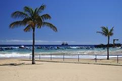 Playa de Teresitas en Tenerife Fotografía de archivo