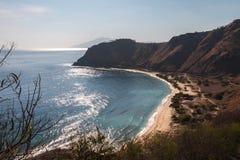 Playa de Timor Oriental Imágenes de archivo libres de regalías