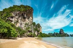 Playa de Tonsai en Tailandia Imágenes de archivo libres de regalías
