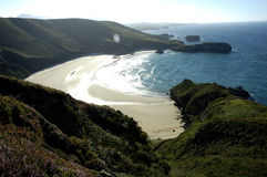 Playa de Torimbia Fotografía de archivo
